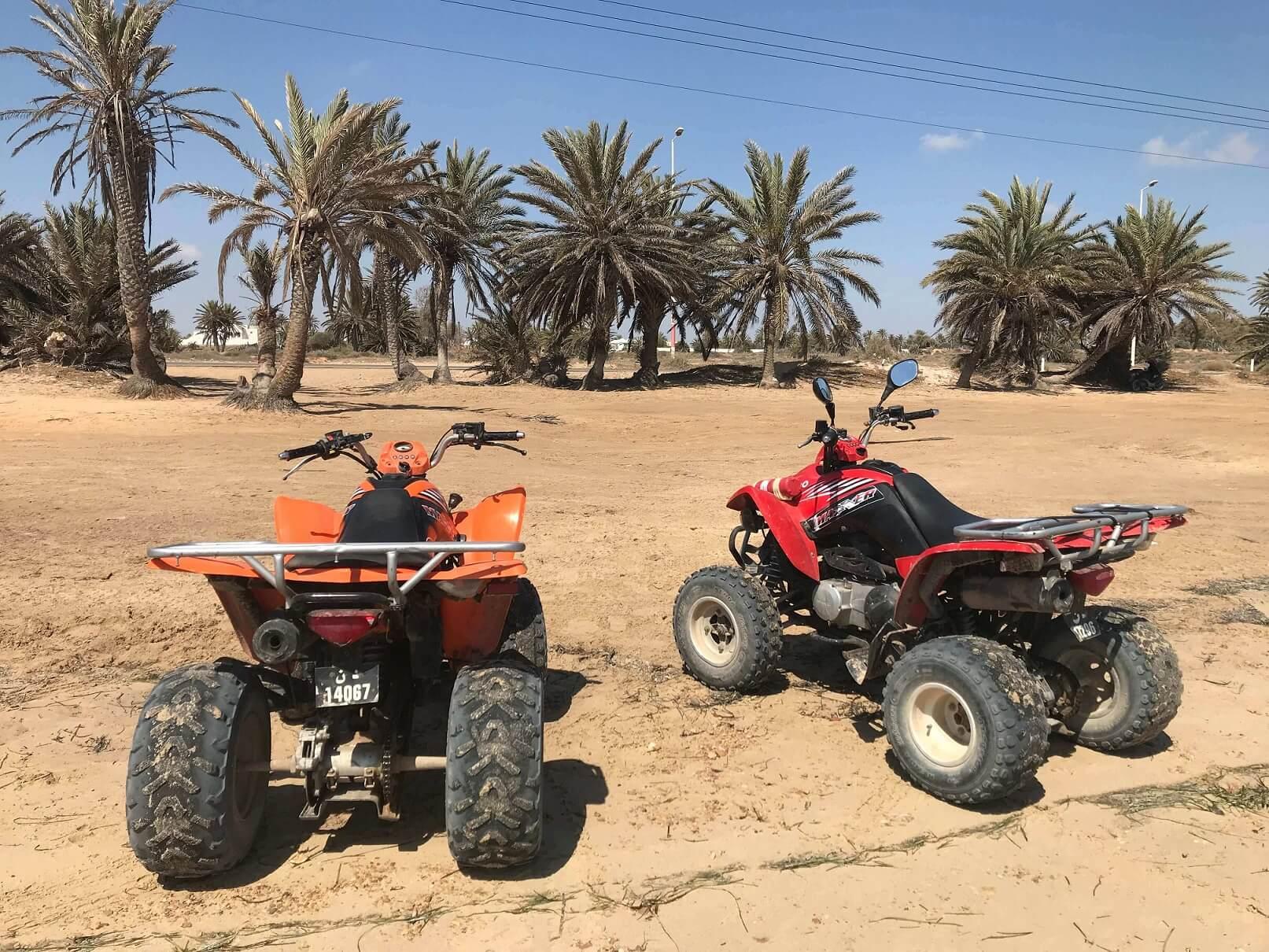 Na čtyřkolkách po Djerbě