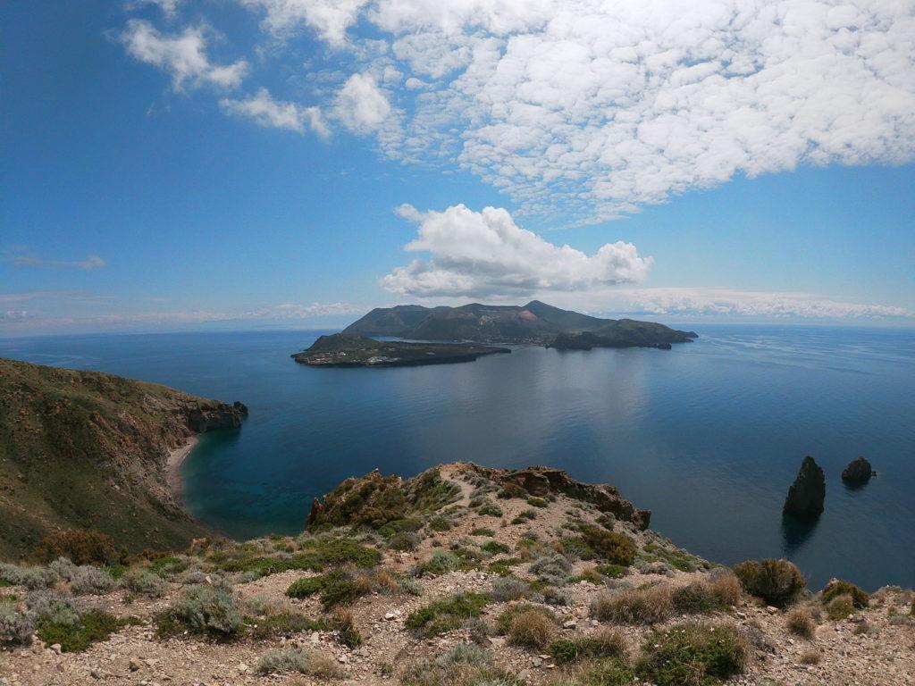 Pohled na ostrov Vulcano