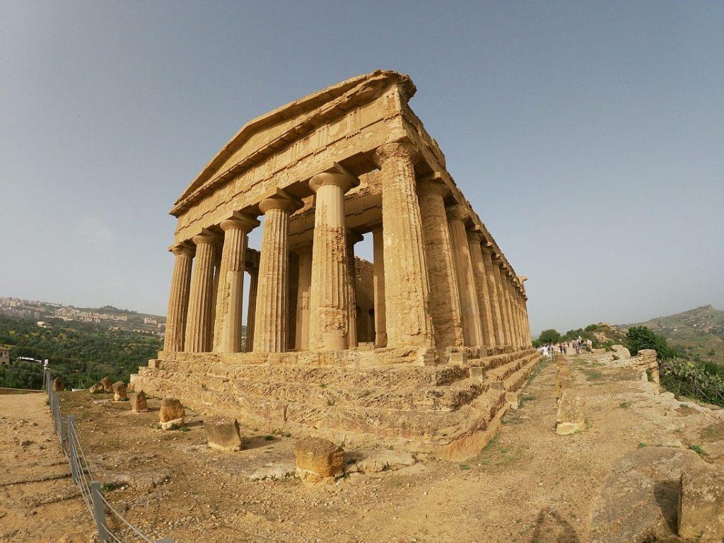 Údolí chrámu Agrigento