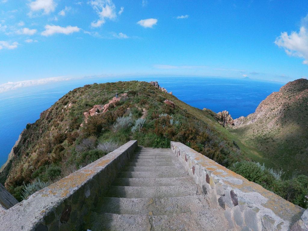 Pohled z ostrovu Lipar