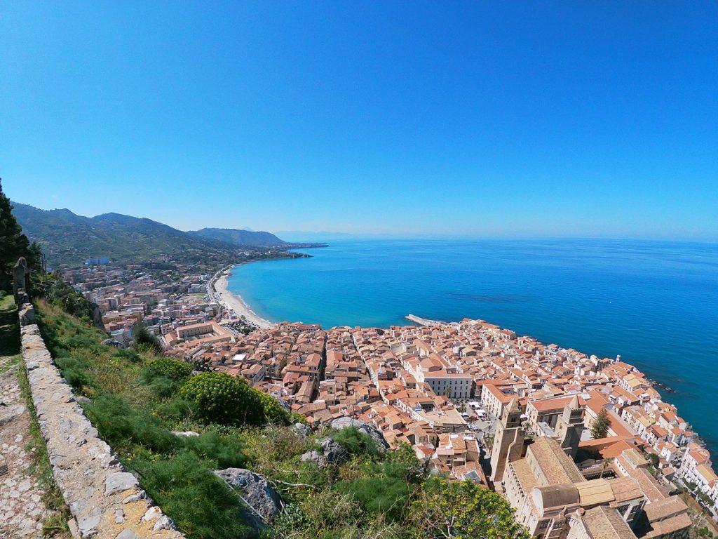 Vyhlídka na Sicílii