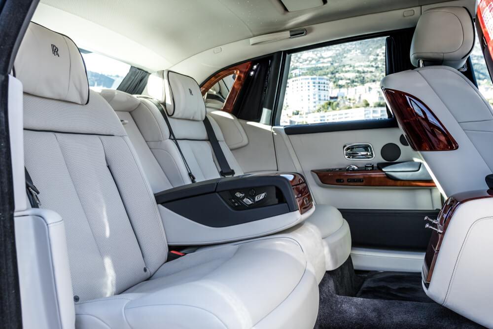 Interier Rolls-Royce Phantom