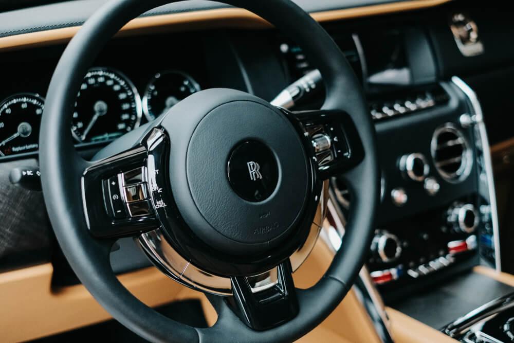 Interiér Rolls Royce Cullinan