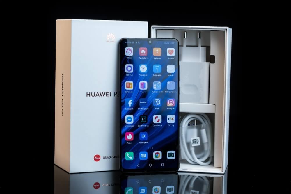 Balení Huawei P30 Pro