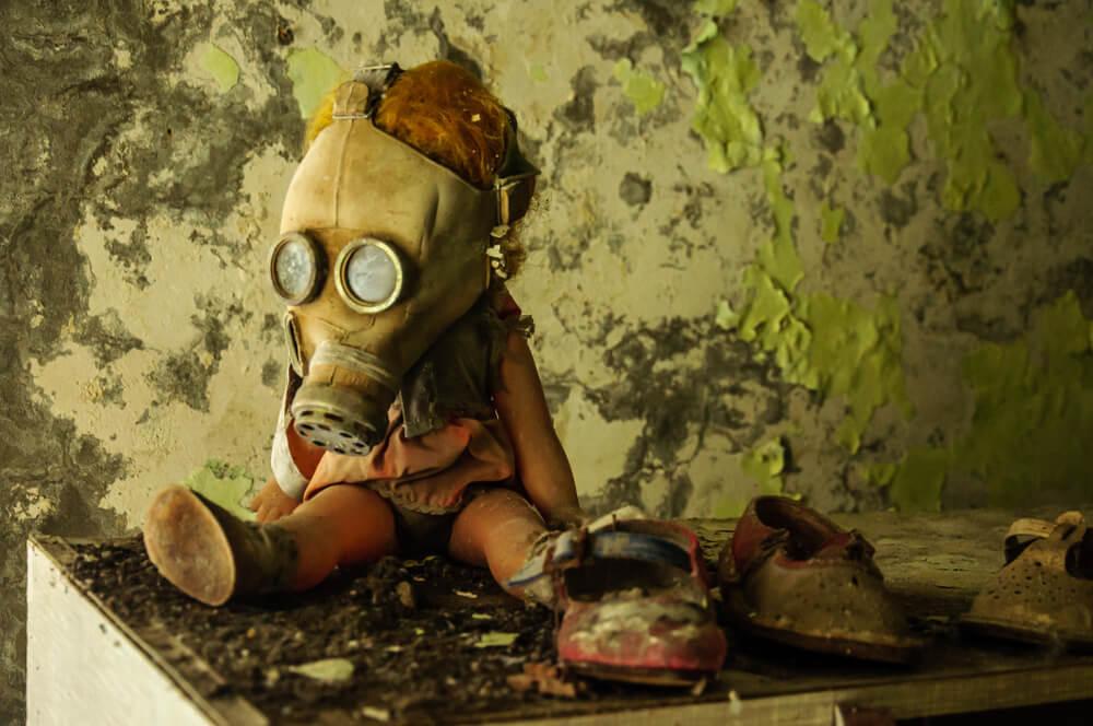 Hračky v Černobylu