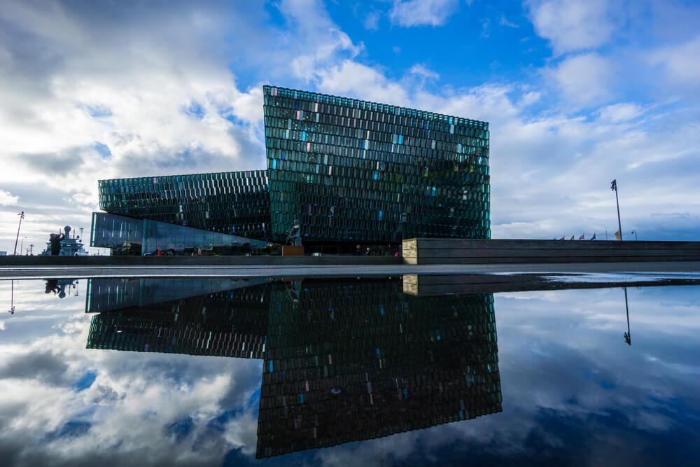 Harpa – koncertní sál a konferenční centrum v Reykjavíku