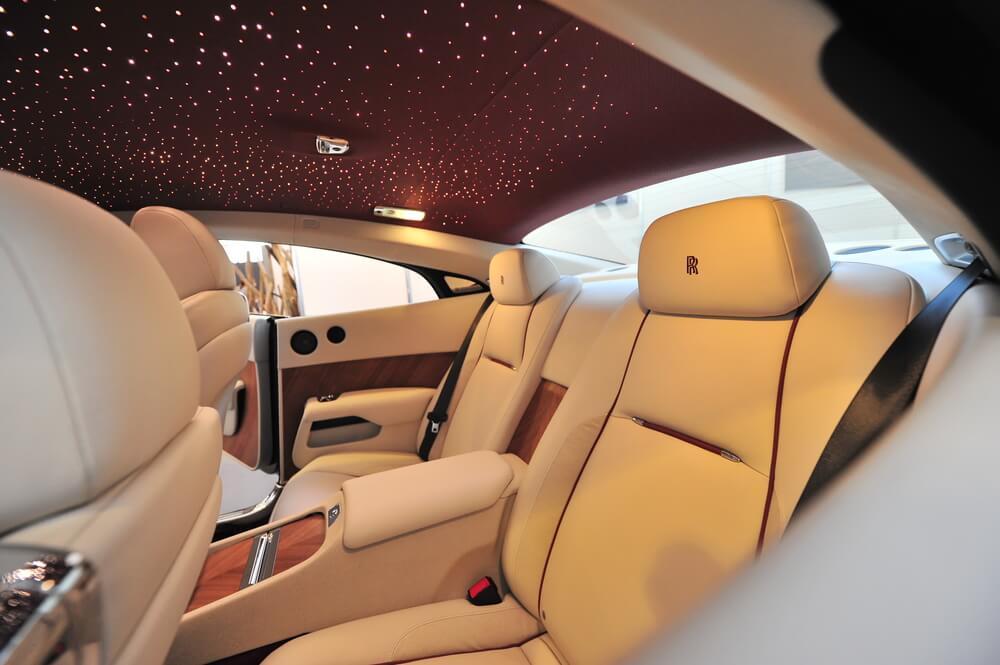Hvězdná obloha Rolls Royce Wraith