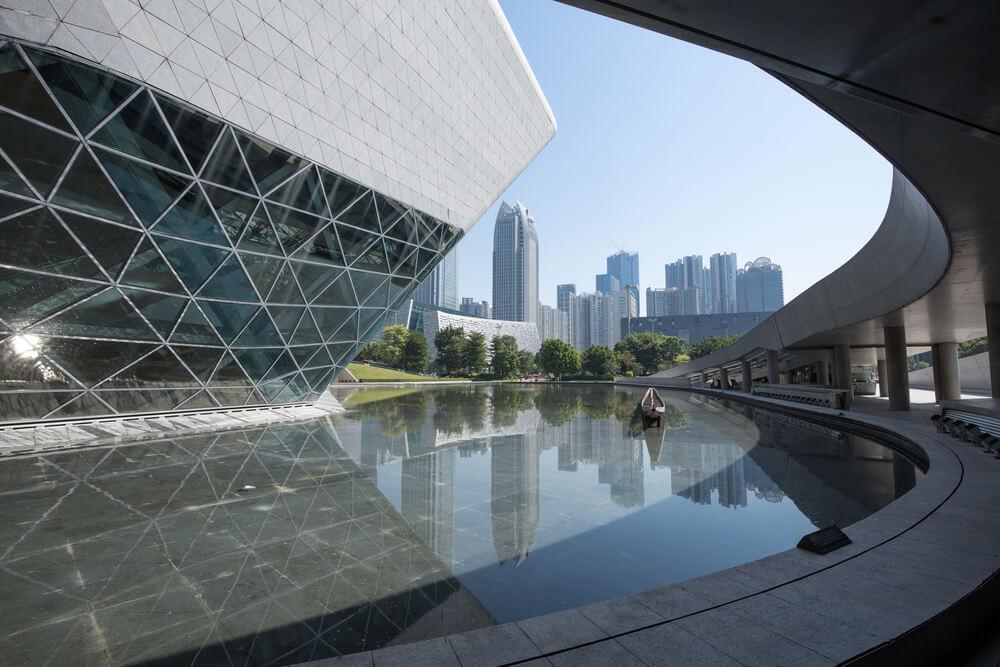 Zákoutí Guangzhou Opera House