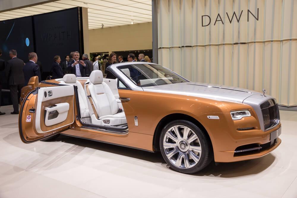 Rolls Royce Dawn dveře