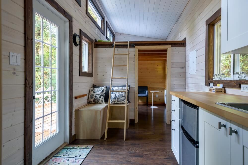 Vnitřní prostory tiny house