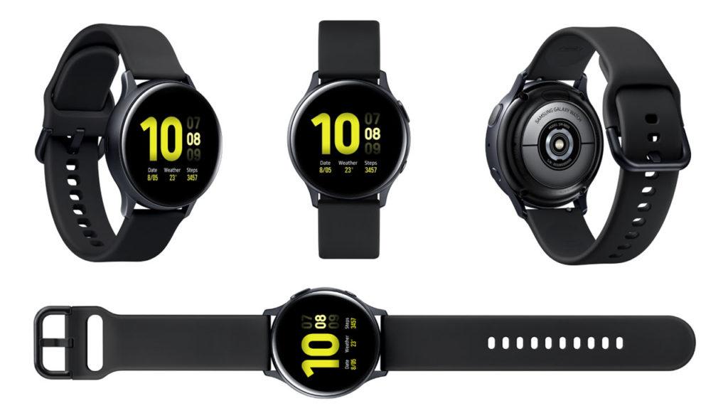 Černá varianta Samsung Galaxy Watch Active 2