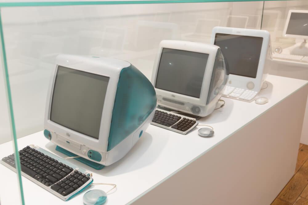 Jak šel čas iMac