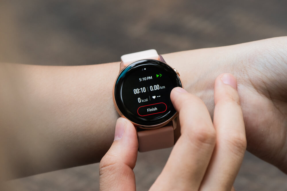 První model Samsung Galaxy Watch Active