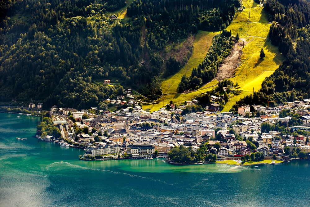 Zell am See jezero