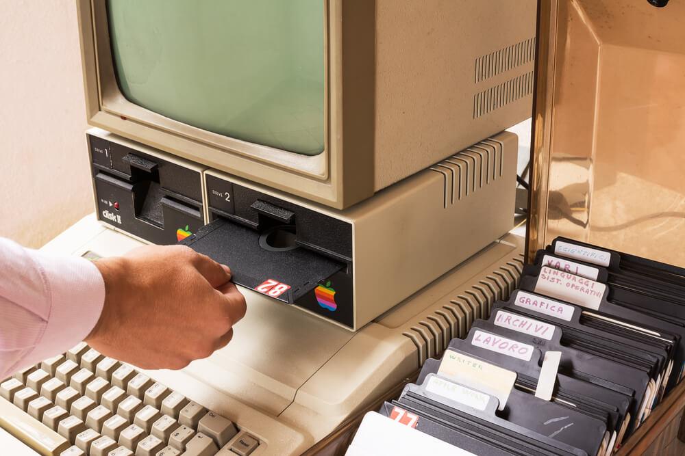 Vzpomínka na diskety