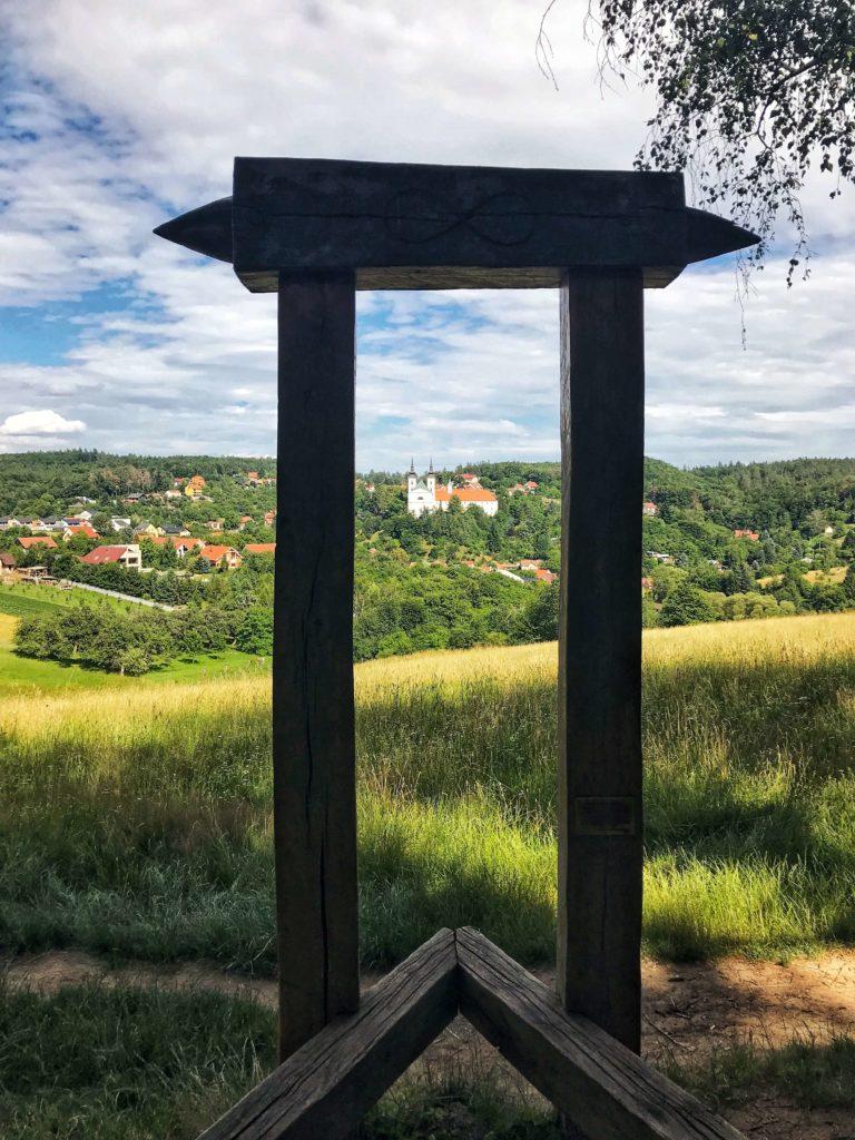 Výhled na Vranov