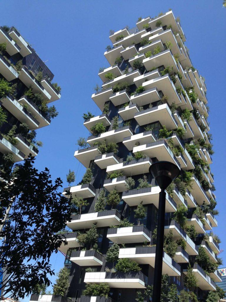 Zelený mrakodrap