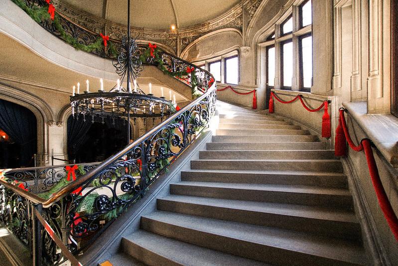 Vánoční schodiště
