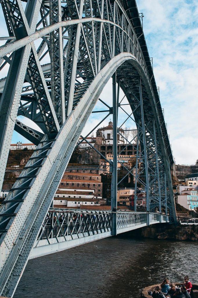 Industriální most v Portu