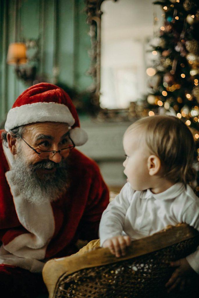 Dárky nosí Santa