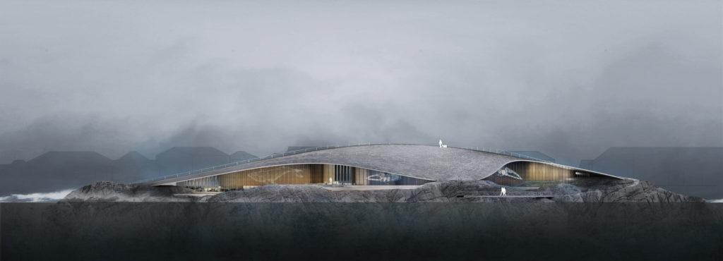 Projekt vyhrála dánská architektonická kancelář Dorte Mandrup
