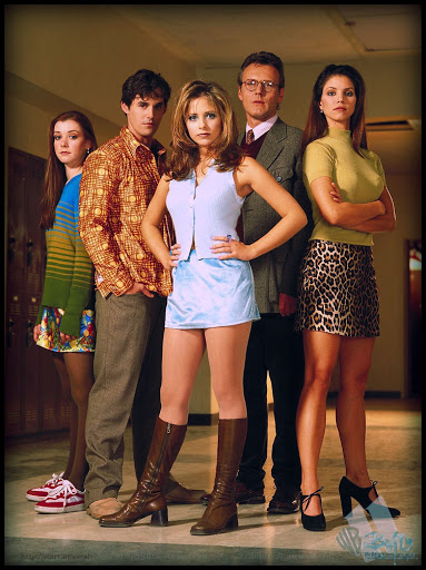 První díly seriálu Buffy, přemožitelka upírů byly odvysílány v roce 1997.