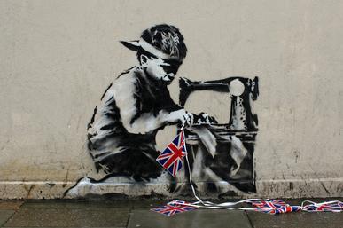 Graffiti je možná zločin, ale co dětská práce?