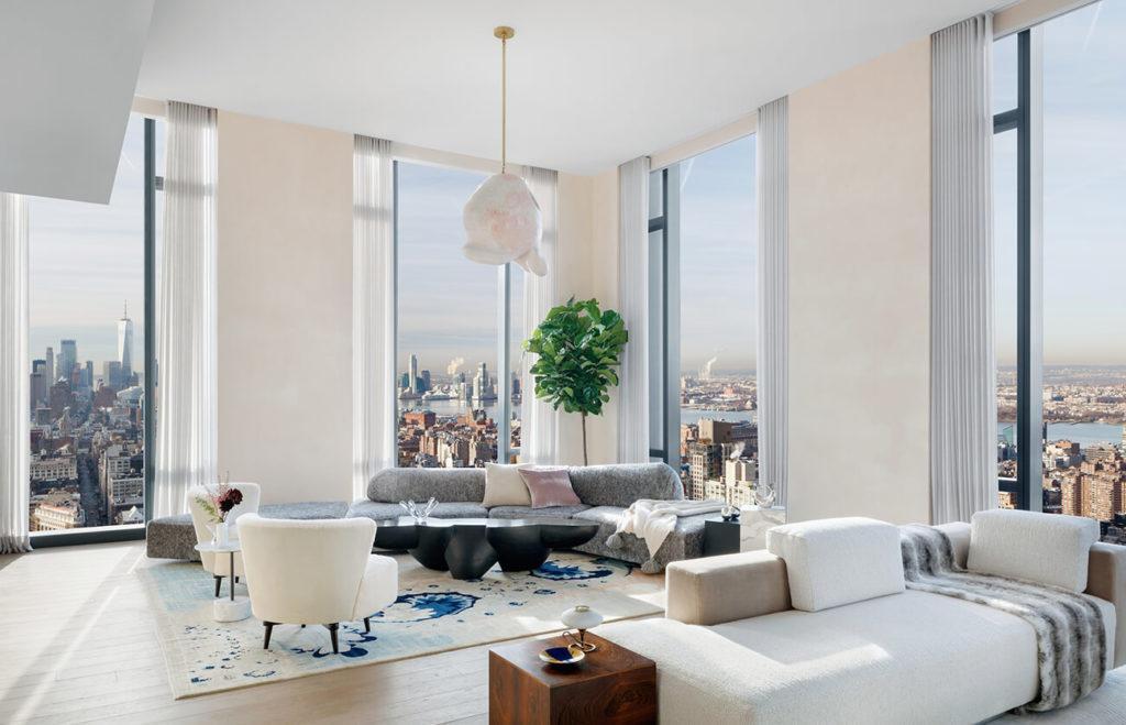 špičková výbava a design penthousu new york