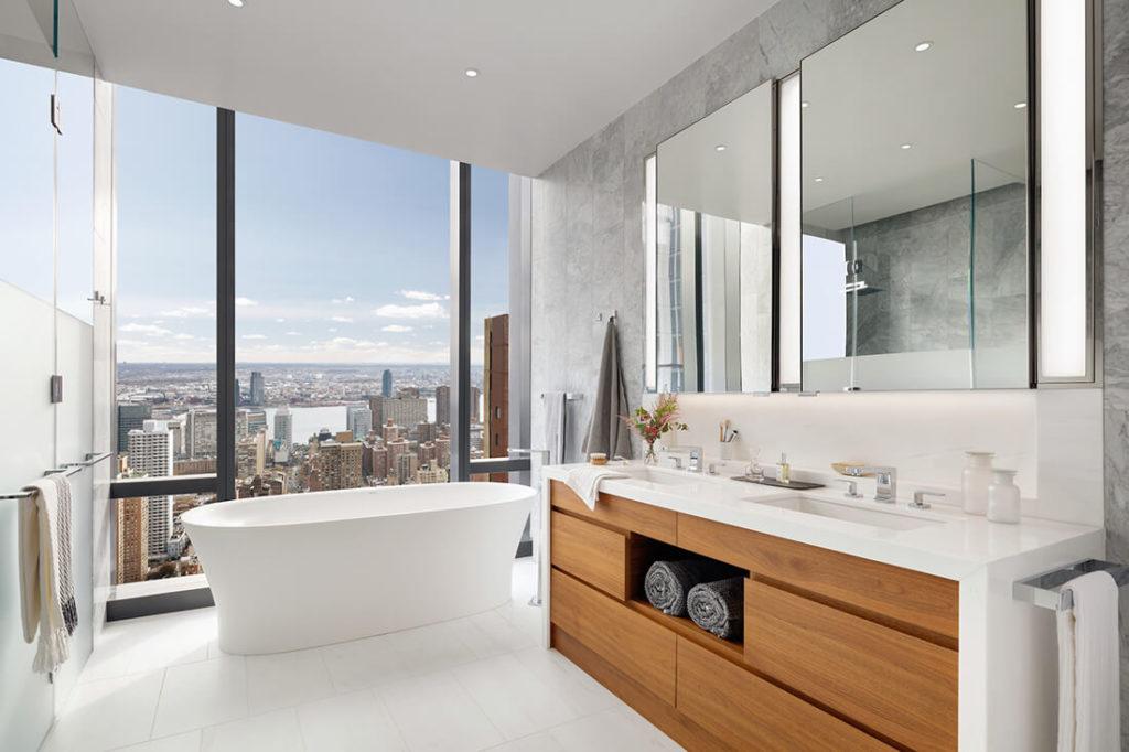 nejluxusnější koupelna - penthouse new york