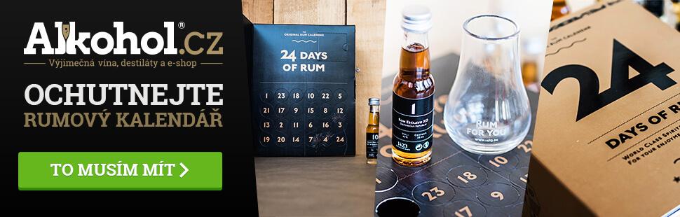 Adventní kalendář rumový