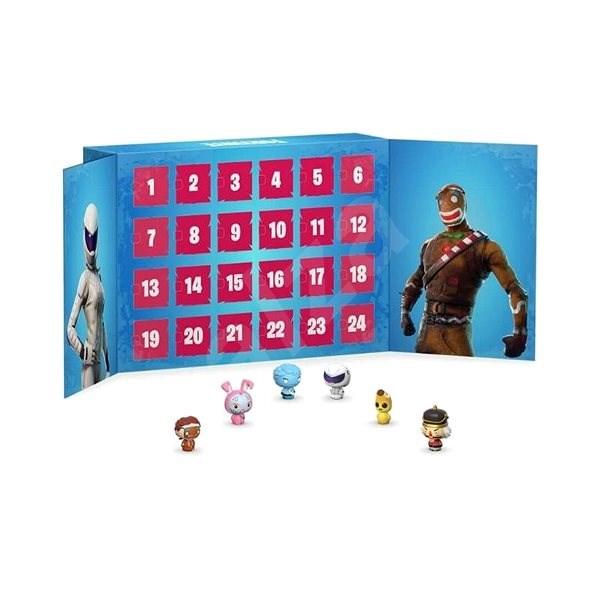 Adventní kalendář pro hráče Fortnite