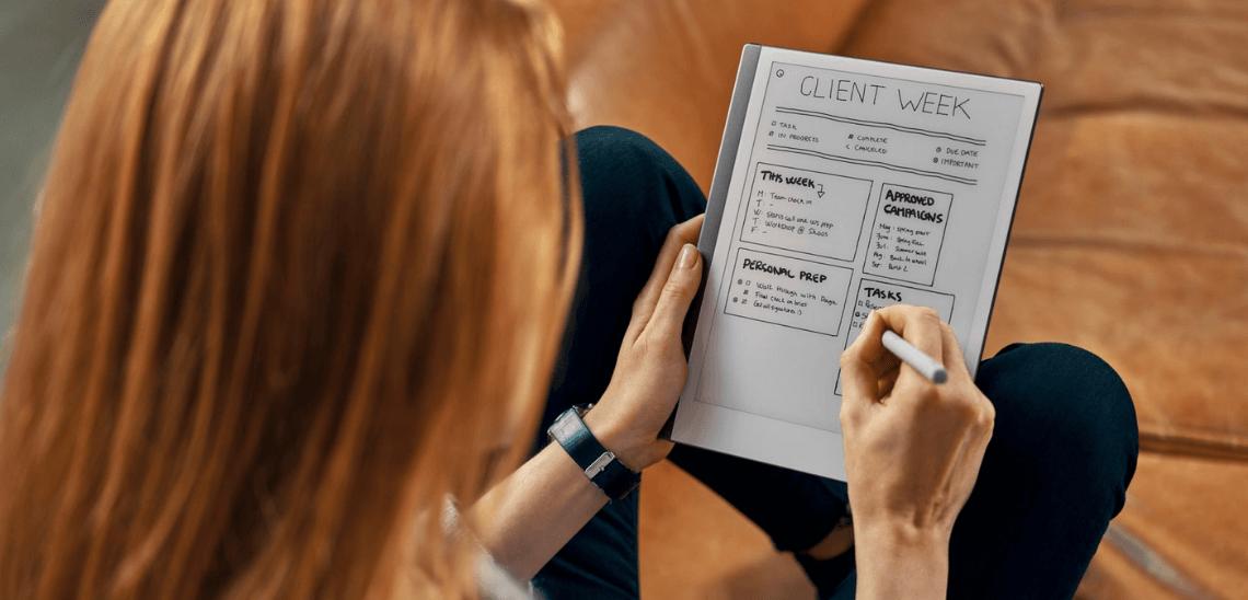 Paper tablet reMarkable 2 - digitální zápisník recenze