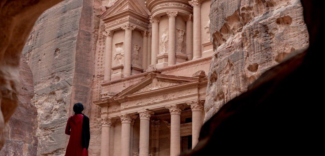 Město Petra v Jordánsku