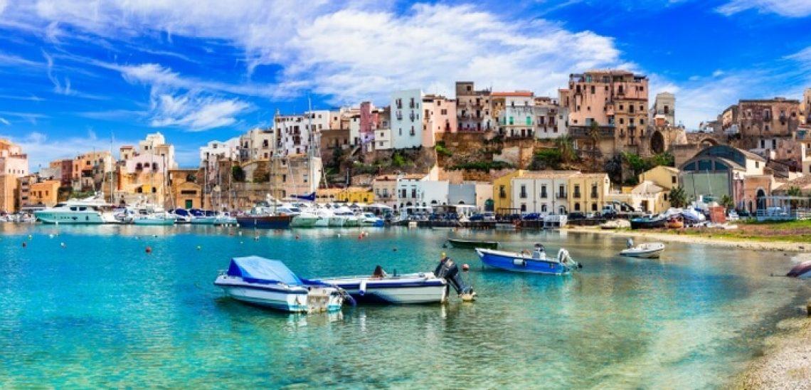 Pohled na Sicílii