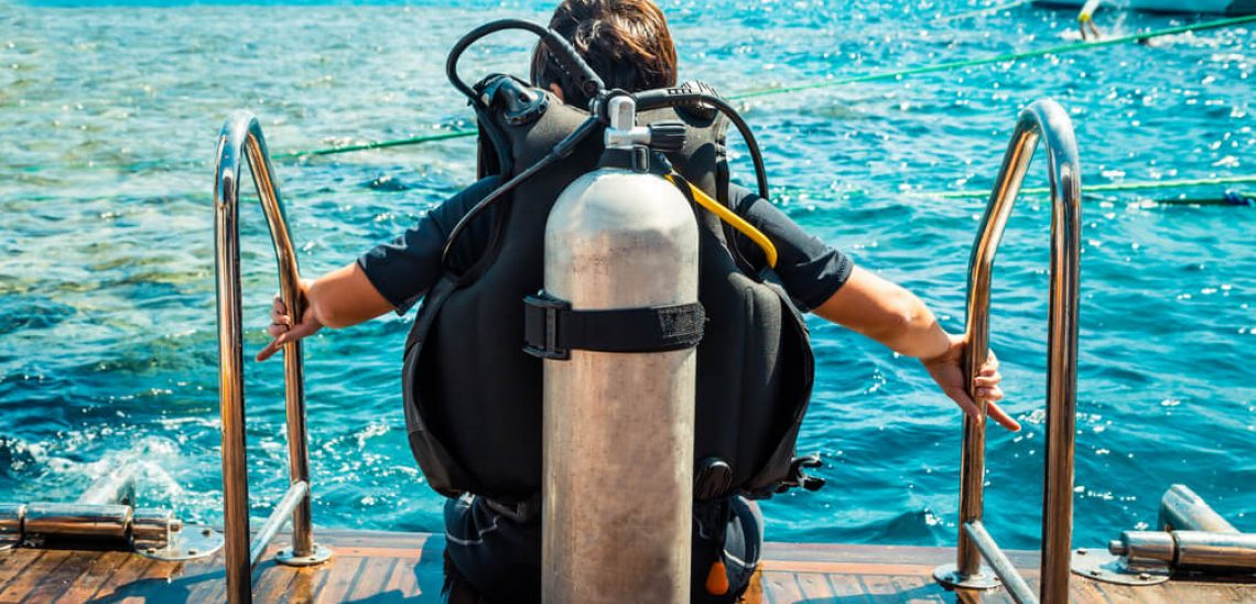 Příprava na ponor
