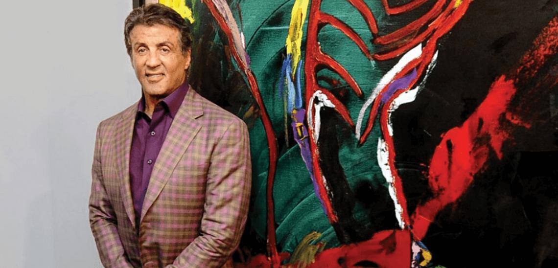 Sylvester Stallone je úspěšný malíř