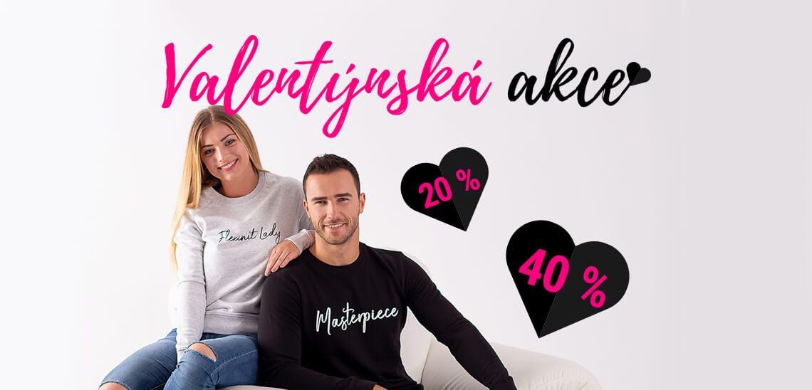 Valentynska akce e-shop Flexinit